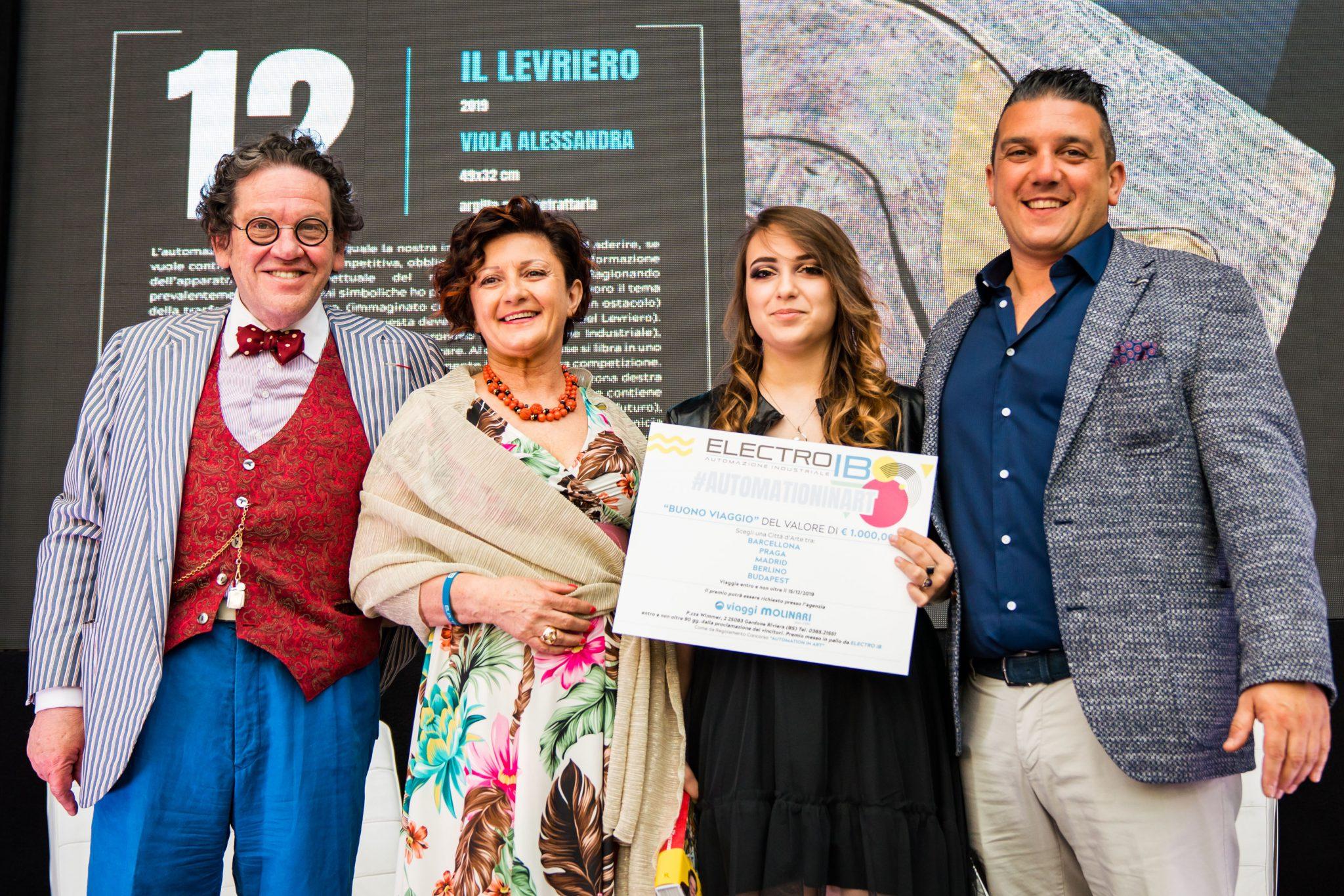 Automation in Art: la visione della vincitrice Alessandra Viola, di ritorno da Madrid
