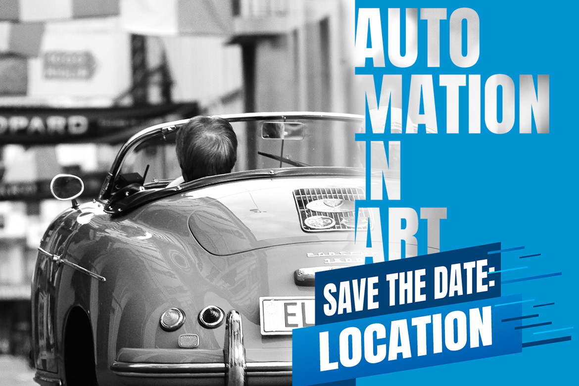 Automation in Art: save the date // La location