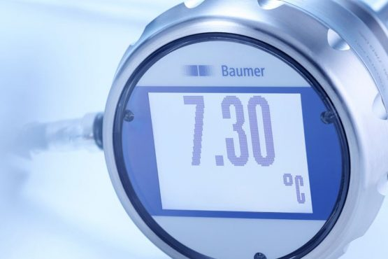 I sensori di temperatura per i processi igienici di Baumer