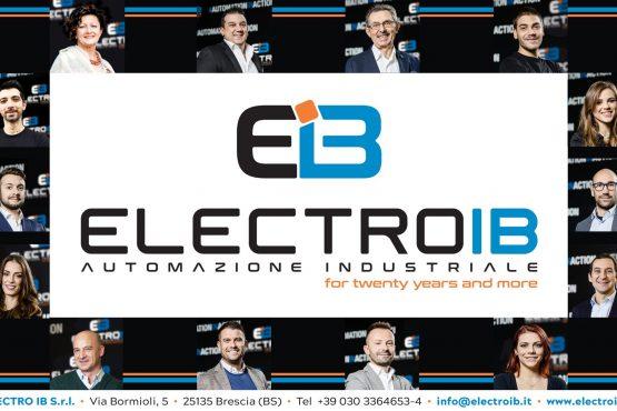 Electro IB si rinnova: arriva il nuovo marchio aziendale