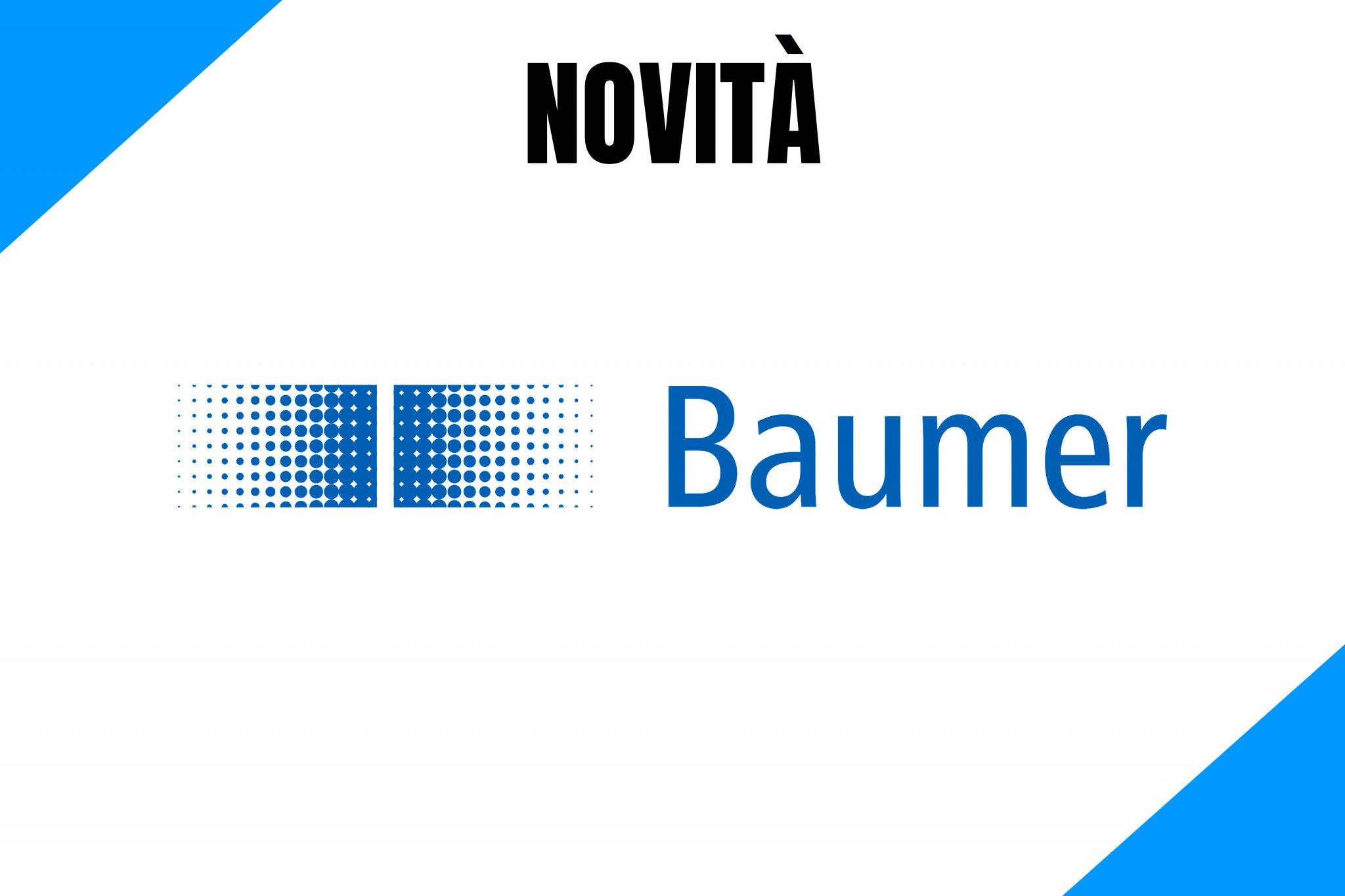 Baumer presenta nuovi sensori di visione e telecamere di controllo industriale