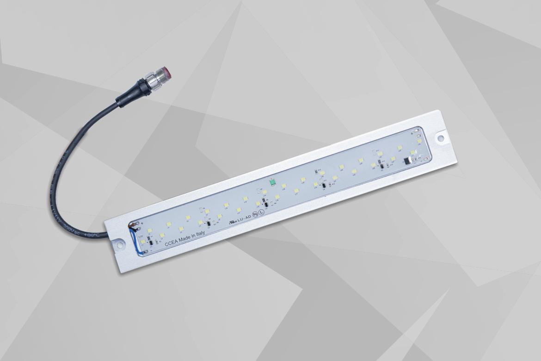Epsylon di CCEA: una lampada per macchine utensili manuali