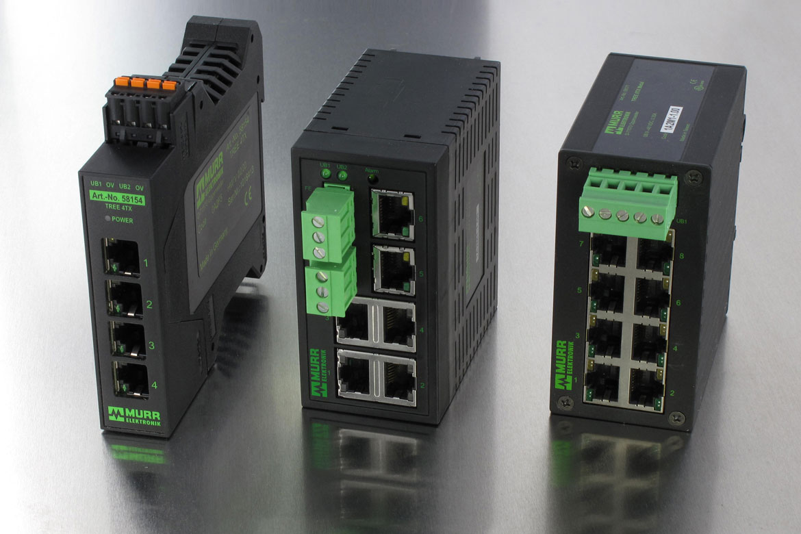 Componenti per reti Profinet: gli switch di Murrelektronik fanno la differenza